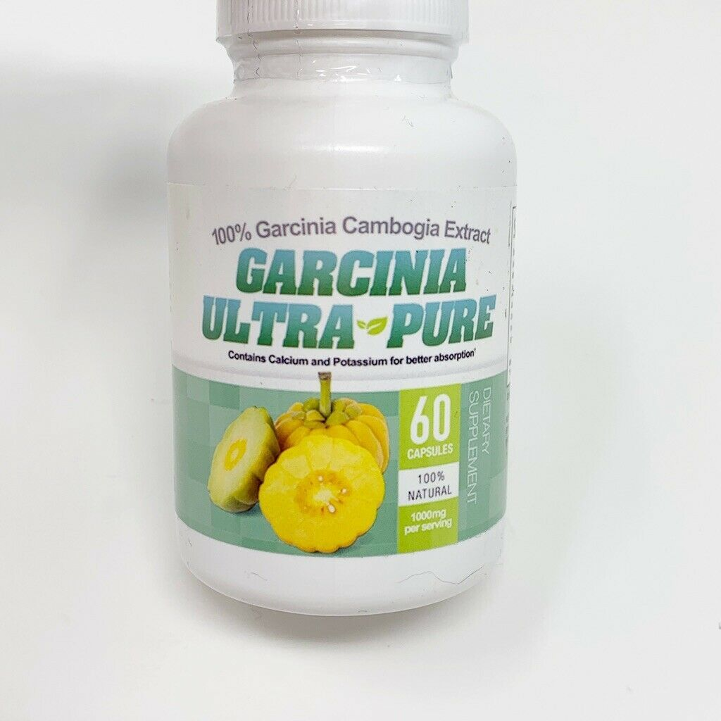 2 - Garcinia Cambogia Ultra Pure 100% Garcinia Cambodia Extract Dietary NEW image 2