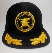 Vtg NRA National Rifle Association Gold Leaf Brim Mesh Snapback Hat NOS ... - $40.74