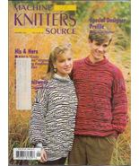 Machine Knitters Source Jan Feb 1993 Magazine His & Hers & Yours Fashions - $5.99