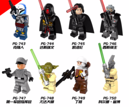 8pcs Fit Lego Coleman Trebor Jeddi Battle of Geonosis Darth Raven Yoda B... - $19.99