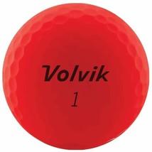 Volvik 2020 Vivid 3 Pc Golf Balls Matte Red - $50.46