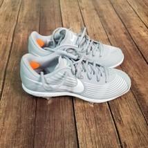 NEW Nike Lunar Hyperdiamond 3 Pro Cleats Womens Size 7 Gray Softball CD0110-006 - $39.59