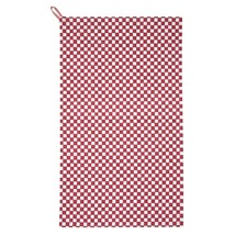 Traditional Gingham Red 100% Cotton Kitchen Tea Towel 50CM X 85CM - $11.62