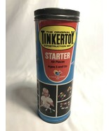 Vintage Tinker Toys Construction Set LOT - 166 Pieces - $39.59