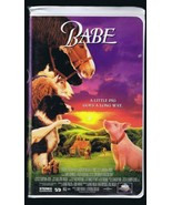 1995 Babe The Gallant Pig VINTAGE VHS Clamshell Edition James Cromwell - $13.99