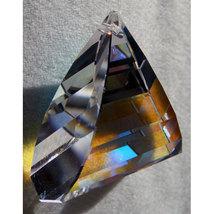 Swarovski 35mm Crystal Pyramid Dangle Prism image 3