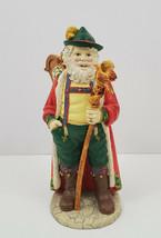 House of LLoyd Christmas Around The World Alpine Santa Figurine - $22.96