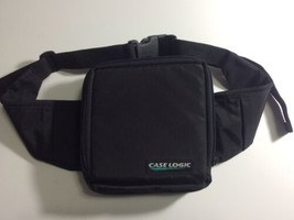 Case Logic Personal CD Player Hip Fanny Pack Bag Black Carrier - $16.83