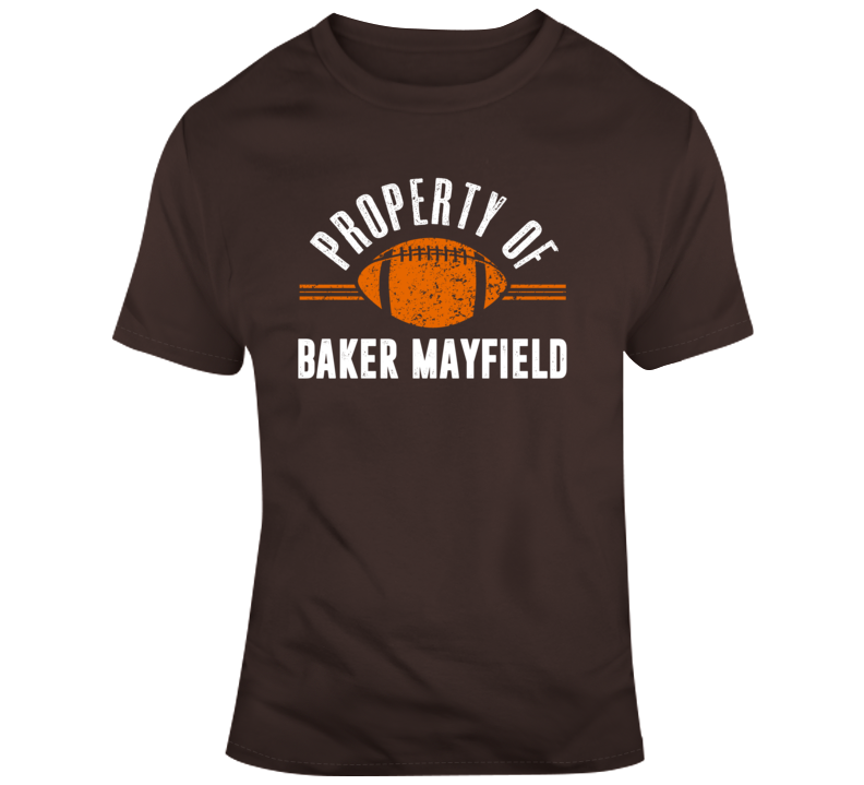 Primary image for Property Of Baker Mayfield Qb Cleveland Football T Shirt