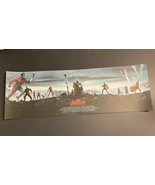 Avengers Endgame Matt Ferguson Giclee 36x12 Art Print 719/960 Grey Matte... - $94.95