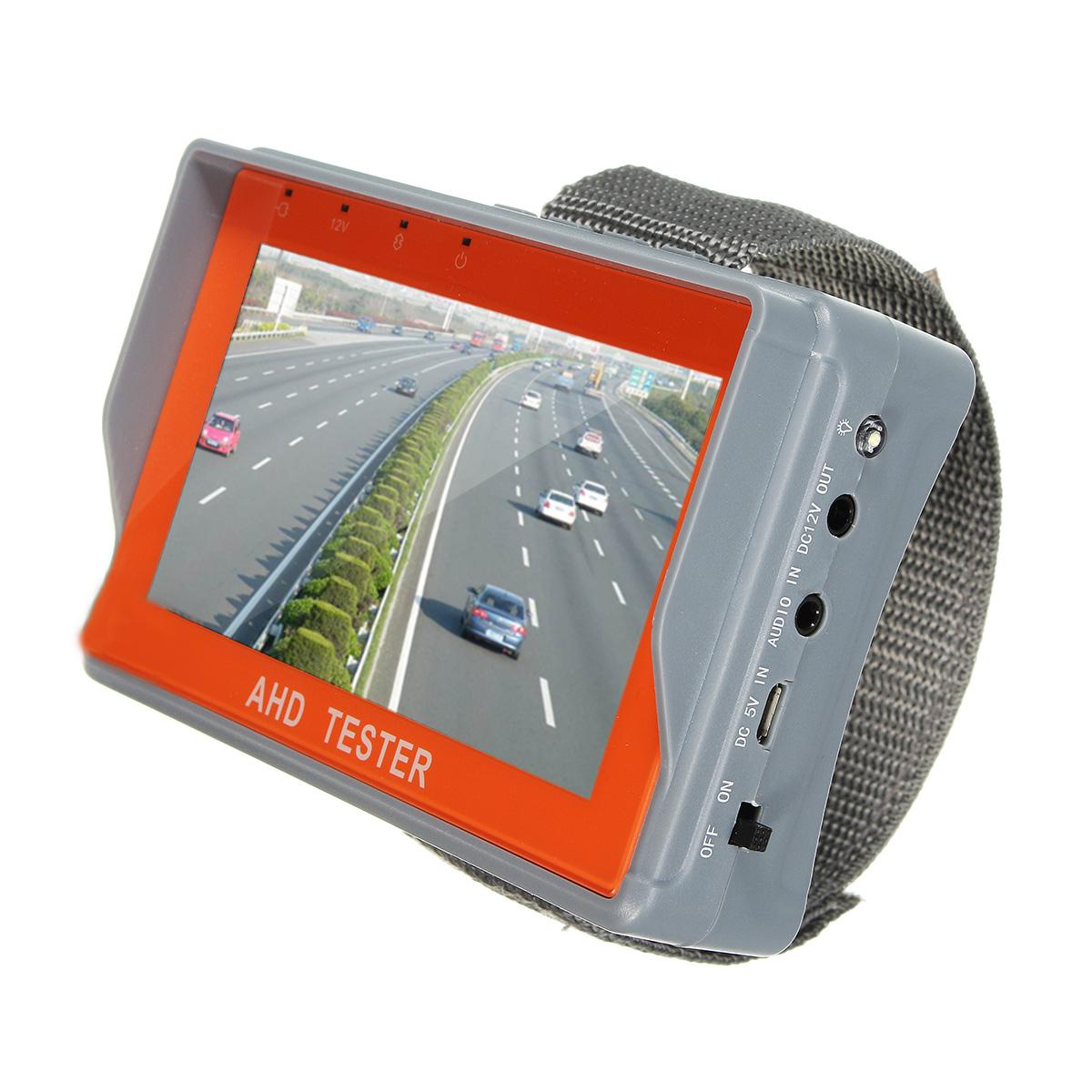 4.3 inch TFT LCD HD CCTV AHD Tester Monitor Analog Camera UTP Cable PTZ 12V