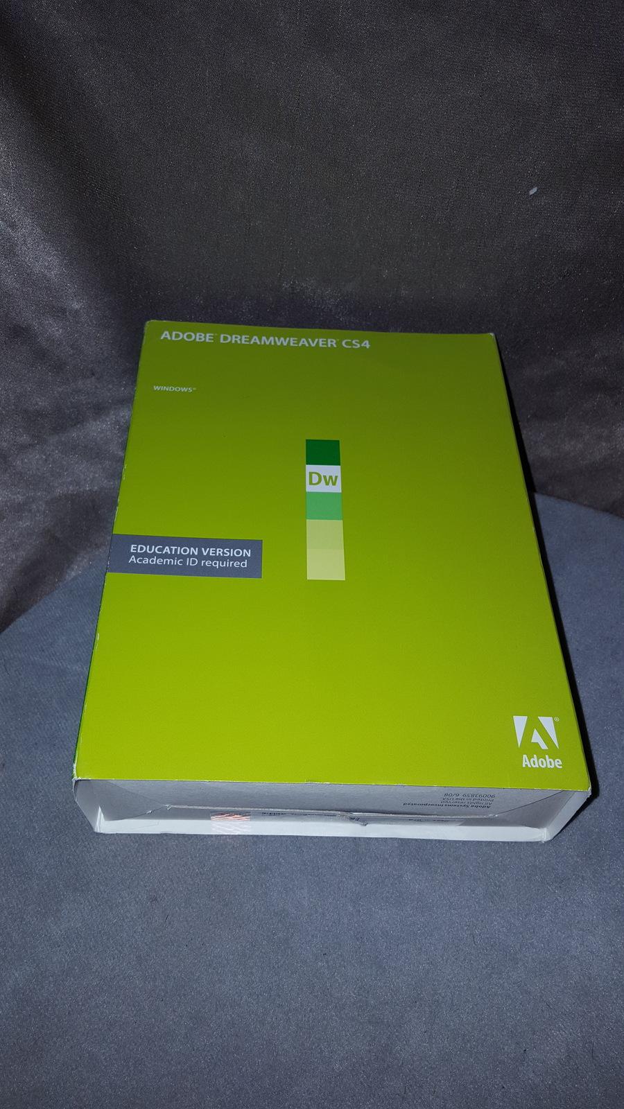 Adobe Dreamweaver CS4 for Windows - and 50 similar items