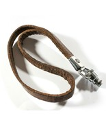 Paillard Bolex 8mm Movie Camera Real Leather Wrist Strap - $11.81