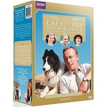 All Creatures Great & Small Seasons 1 2 3 4 5 6 7 Complete DVD Series New Set - $68.00