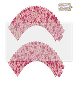CupCake Wrapper2-Digital Clipart-Holiday-Gift Tag-Digital Paper-Party - $2.00