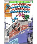 Captain America Comic Book #252 John Byrne Art Marvel Comics 1980 FINE+ - $4.75