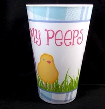 Melamine Easter tumbler This one is for my PEEPS 16 oz NEW - $4.25