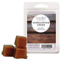 Fusion by ScentSationals Wax Cube Sandalwood Cedar, 2 oz. - $6.90