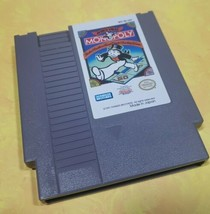 Monopoly /Nintendo Entertainment System, 1991 NES-6B-USA / Made in  Japan Tested - $14.06