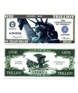 Trillion Dollar Novelty Money Bills - £1.54 GBP