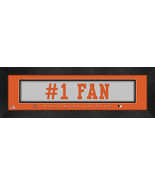 "Baltimore Orioles ""#1 Fan"" 8 x 24 Slogan Stitched Jersey Framed Print - $39.95"
