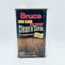 Bruce Clean N Strip Wood Cleaner Wax Remover Wax Urethane Finish Hardwoo... - $44.99