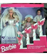 Barbie Doll - Vintage 1993 Dream Wedding Set with Stacie & Todd Limited ... - $72.95