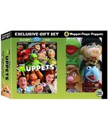 The Muppets Gift Set (Includes The Muppets Blu-Ray Combo Pack and 4 Mupp... - $39.55