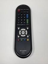 Sharp GA667WJSA Lcd Tv Remote For LC32SB24U LC32SB27U LCC5277UN LC52E77U - $24.70