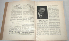 MENORAH Judaica Rare Illustrated Monthly for the Jewish Home Sept. 1928 Austria image 3