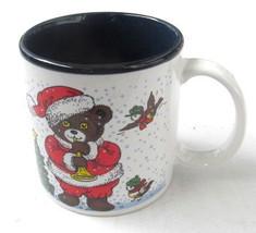 Vintage Potpourri Press Christmas Brown Teddy Bear & Rooster Paraglazed ... - $14.99