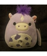 "Squishmallows Meadow HORSE 5"" Kellytoy Purple Pony  - $16.82"