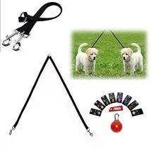 Double Leash For Dogs - Dual Dog Leash Splitter Handles Two Dogs Leads t... - $12.26