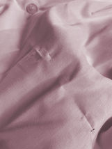 Berlioni Italy Men's Long Sleeve Solid Pink Dress Shirt w/ Defect Size L image 4