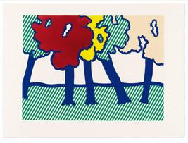 "Roy Lichtenstein ""Saison en Nouvelle"" HD print on canvas wall picture 36... - $29.69"
