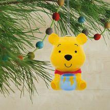 Hallmark Disney Winnie the Pooh Decoupage Shatterproof Christmas Ornament NWT image 4