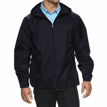 Maximos Men's Water Resistant Hooded Lightweight Windbreaker Rain Jacket Jasper image 6