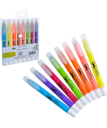 Mr. Pen No Bleed Gel Highlighter, Bible Highlighters, Assorted Colors, Pack Of 8 - $15.99