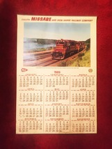 1989 Duluth Missabe & Iron Range Railways Train Wall Calendar