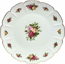 Royal Albert Old Country Roses Pierced Round Platter, 14-Inch NEW  - $98.99