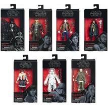 """1 Star Wars 6"""" Action Figure The Black Series Collectible Movie Characte... - $8.88+"""