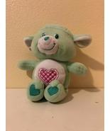 "Plush Stuffed Care Bears Cousins Gentle Heart Lamb 10"" Play Along 2004 - $7.52"