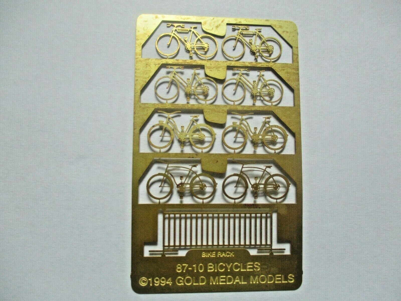 Gold Medal Models # 87-10 Bicycles and Bike Rack HO-Scale