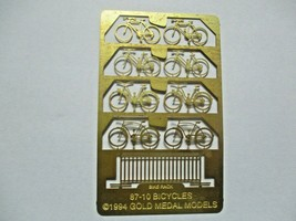 Gold Medal Models # 87-10 Bicycles and Bike Rack HO-Scale image 1