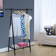 Clothes Drying Rack 1Tier Metal Laundry Organizer Indoor Dryer Storage P... - $35.64