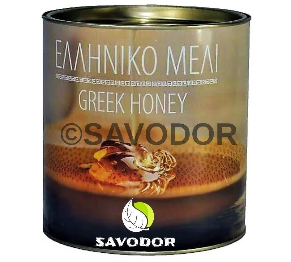 NEW HARVEST CHESTNUT Honey Can 900gr-35.71oz OLYMPOS MOUNTAIN EXCELLENT QUALITY