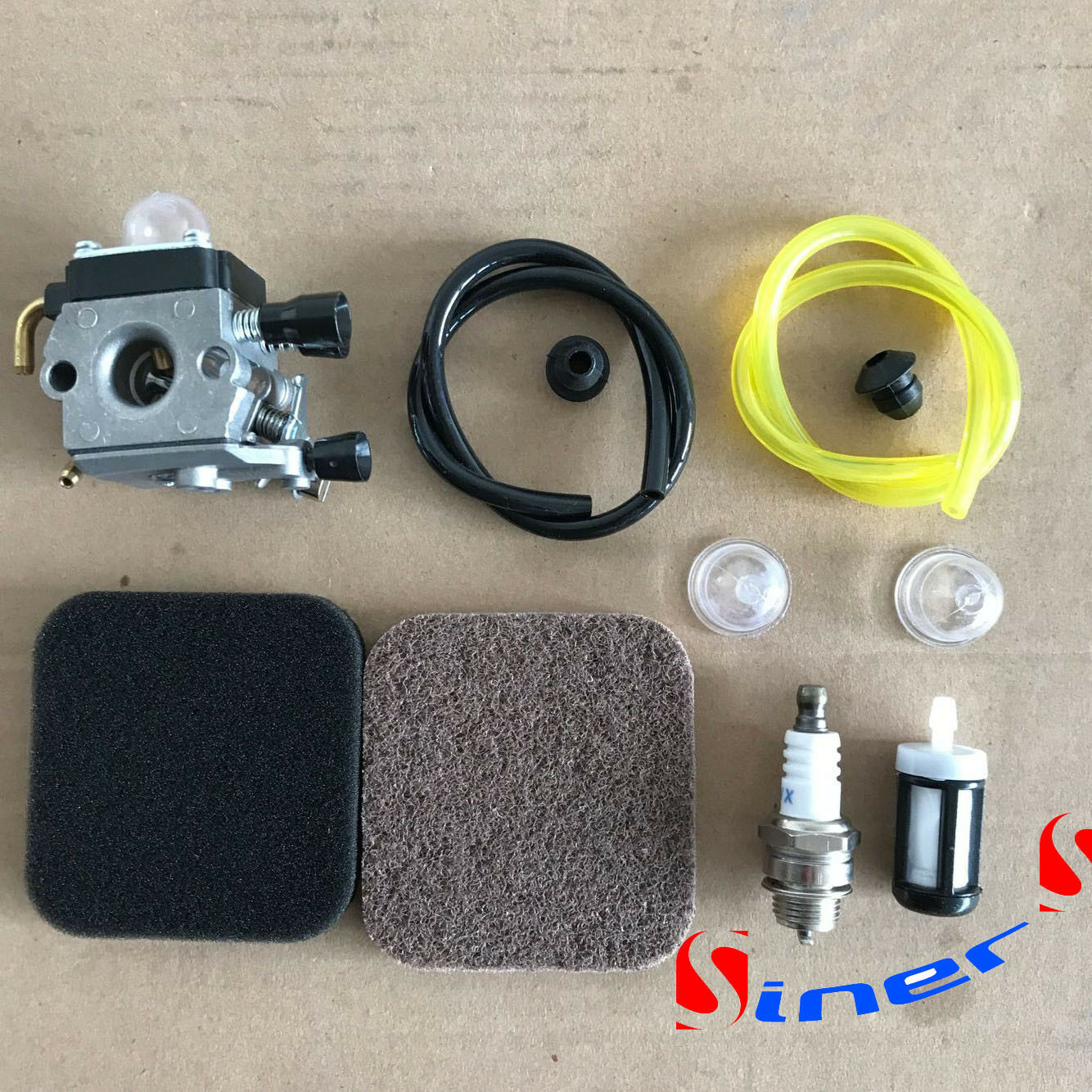 Primary image for Carburetor FIT STIHL FS85 FS75 FS80 KM85 HS75 HS80 HS85 Carb & Fuel Line Filter