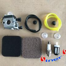 Carburetor FIT STIHL FS85 FS75 FS80 KM85 HS75 HS80 HS85 Carb & Fuel Line... - $12.90
