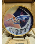 Star Trek USS Enterprise NCC 1701 Decorative Collector Plate Ernst #2519... - $13.99