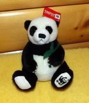 """World Wildlife Fund 25th Anniversary Protect China's Pandas Plush 7"""" GUN... - $7.89"""